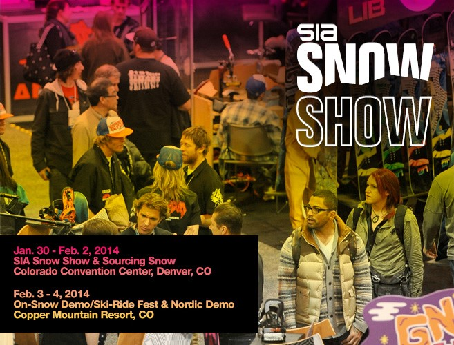 Welcome SIA Snow Show!